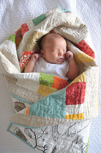 My baby & her quilt | by urban.patchwork