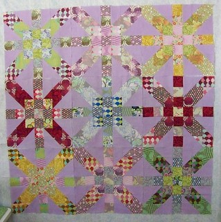 Supernova Quilt Along possible layout | by JuliePickles