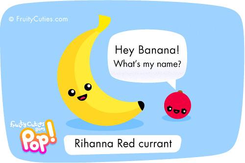 Cute cartoon rihanna redcurrant joke fruity cuties goes - Fruity cuties jokes ...