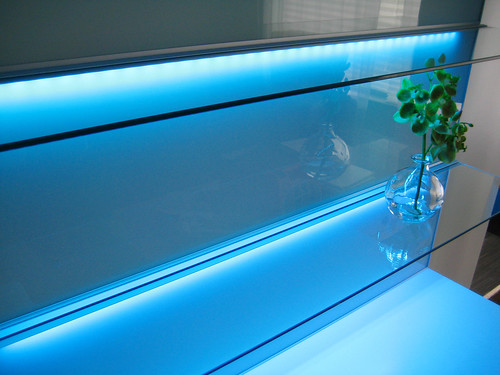 framsta glass panels shelves with led lighting flickr photo sharing. Black Bedroom Furniture Sets. Home Design Ideas