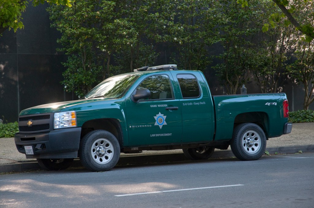 California warden truck a california game warden truck for Mississippi fish and game