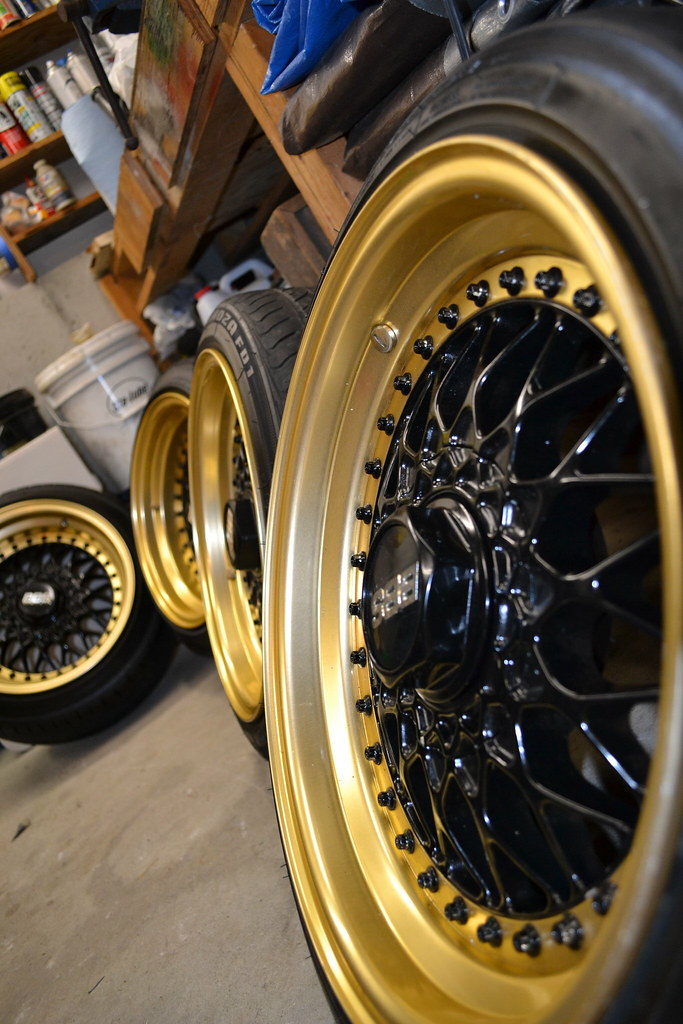 Black And Gold Bbs Wheels Steezyproductions Flickr
