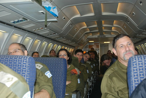 Plane Briefing for Delegation Members | by Israel Defense Forces
