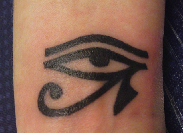 Eye of horus tattoo flickr photo sharing for Egyptian tattoo flash