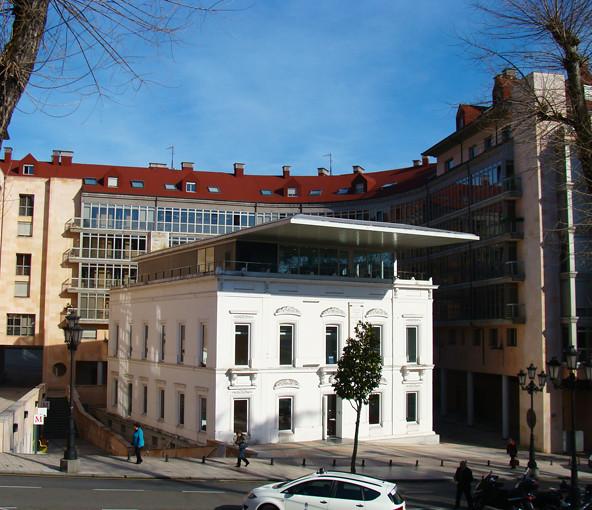 Sede do colegio de arquitectos de asturias oviedo espanh - Arquitectos asturias ...