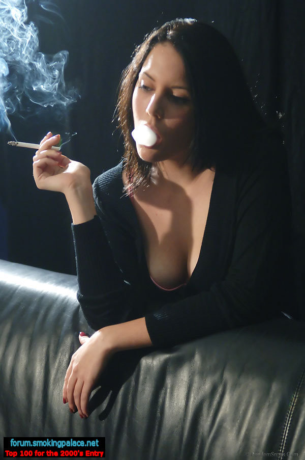 Hot Sexy Women Smoking