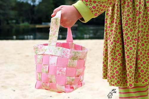 tisket tasket fabric basket | by JenniferCasa