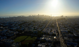 Early morning backlit San Francisco | by Michael Layefsky