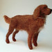 Needle felted Irish setter - Mingus