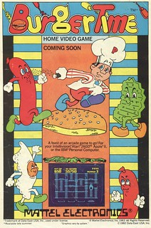 Burgertime for the Atari 2600 (1983) | by Paxton Holley