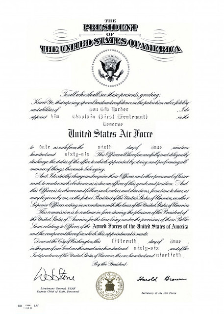 Cold War Service Certificate Paper Items Glendale Arizona. 2016 ...