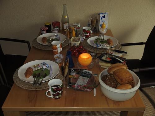 Frühstück bei einer Freundin in Herne