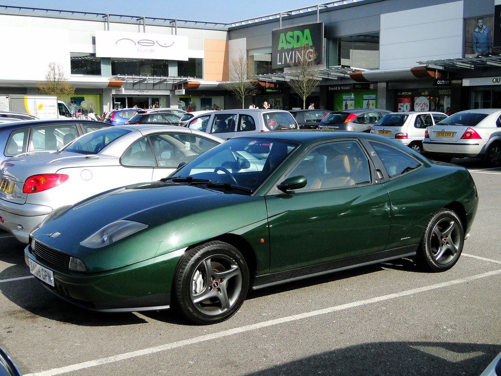 fiat coupe 20v turbo seen on newport retail park. Black Bedroom Furniture Sets. Home Design Ideas