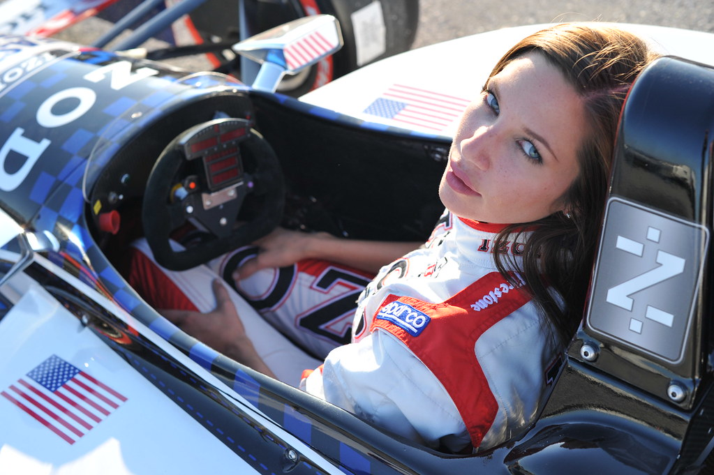 izod indycar series trophy girl in the izod honda 2 seater. Black Bedroom Furniture Sets. Home Design Ideas