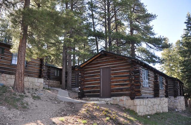 Grand Canyon Lodge North Rim Frontier Cabins 0419 Grand