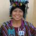 Mujer risueña - Smiling Woman; Magdalena, de Chajul, El Quiché, en Tecpán Guatemala, Chimaltenango, Guatemala