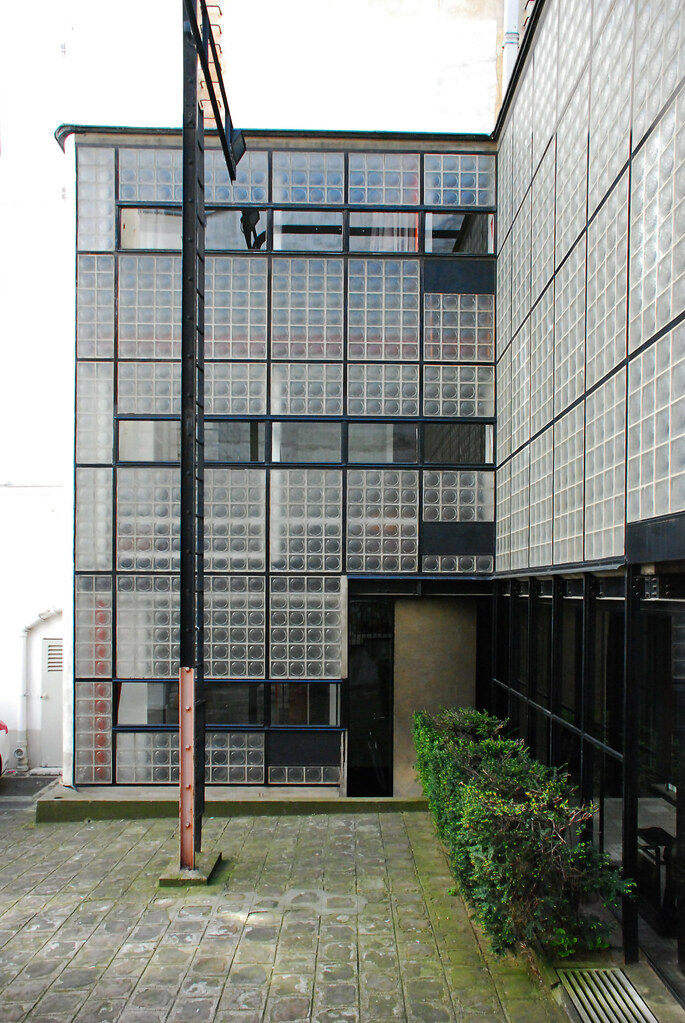 maison de verre paris pierre chareau bernard bijvoet lo flickr. Black Bedroom Furniture Sets. Home Design Ideas