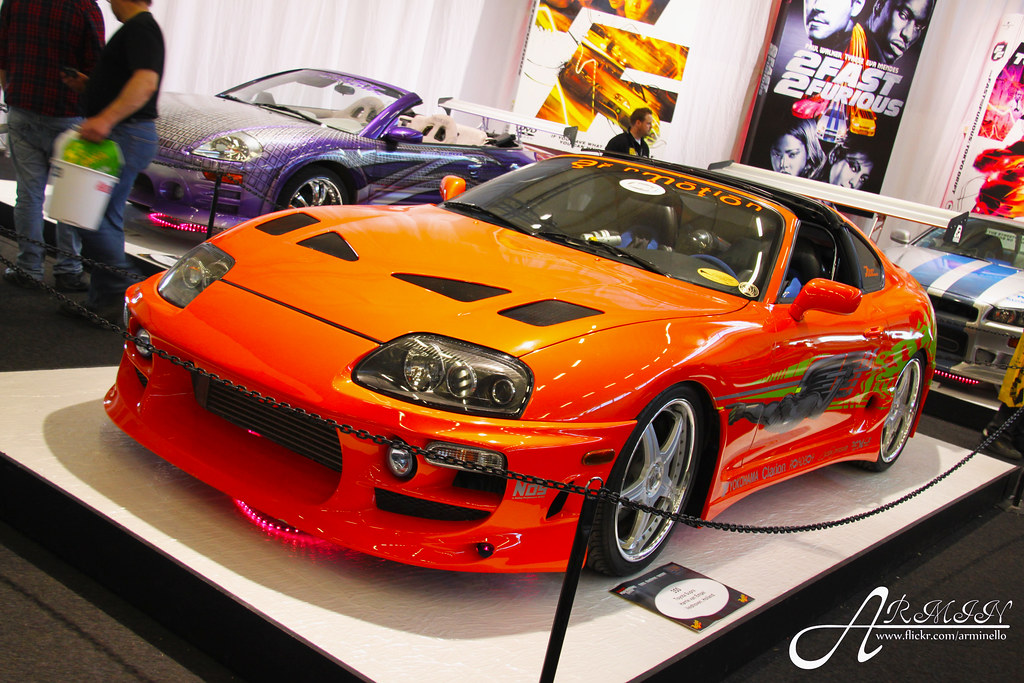 Toyota Supra Fast and Furious | Flickr - Photo Sharing!