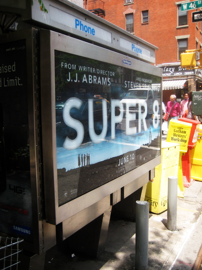 super 8 phone booth movie poster billboard nyc 9625 flickr