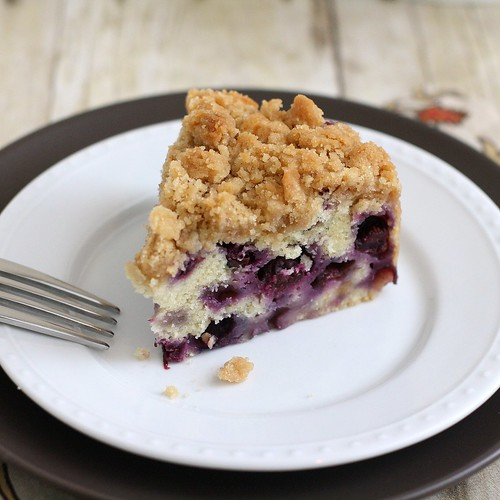 Blueberry Buckle | by Tracey's Culinary Adventures