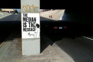 The Median is the Message | by Pedestrian Photographer