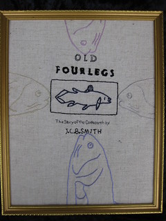 "Daddy is this our biography? ""Old Fourlegs The Story of the Coelacanth"" 