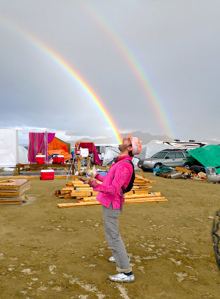 Eating The Double Rainbow Burning Man 2010 The Night I