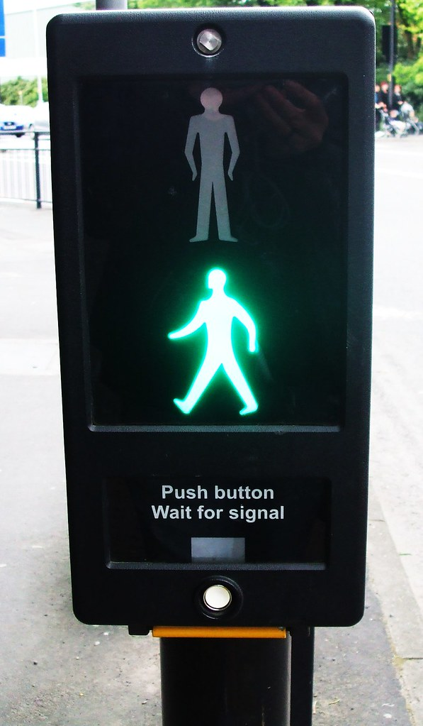 Pedestrian Crossing 1 - Green man | Chris_Skoyles | Flickr