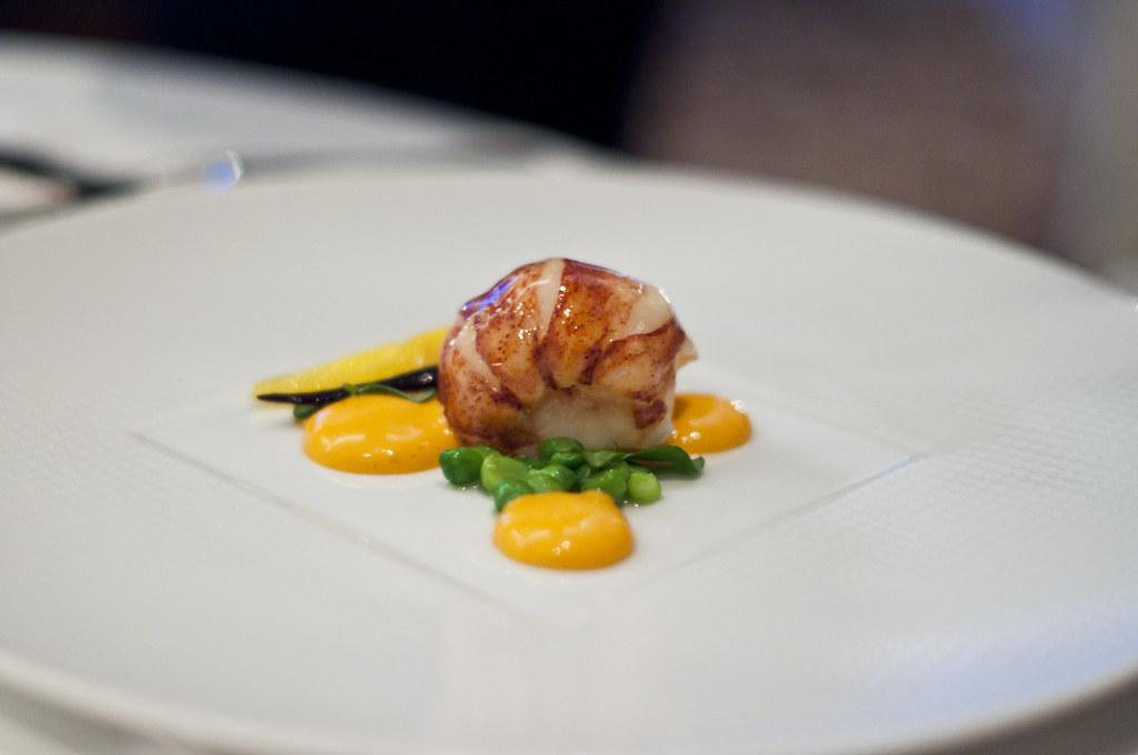 "Per Se - Lobster | ""PEAS AND CARROTS"" - Butter Poached Nova … | Flickr"