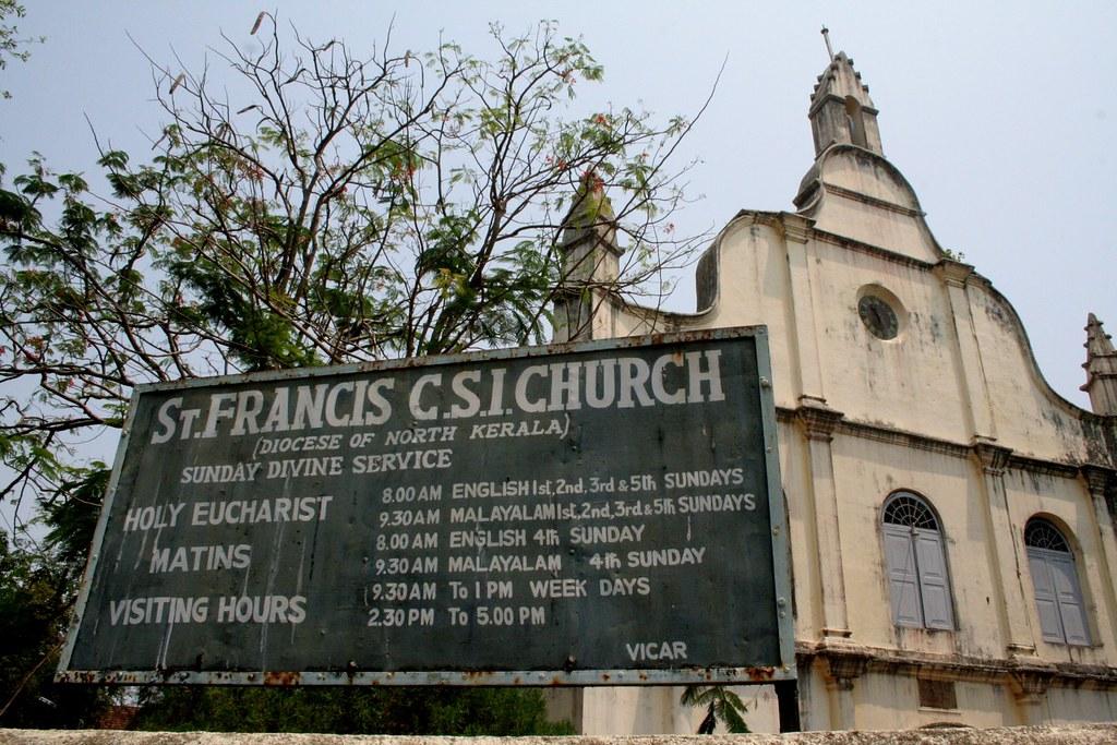 Resultado de imagem para st francis church kochi