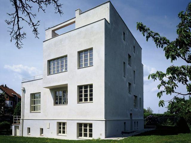 adolf loos designed house in prague prague 3storey