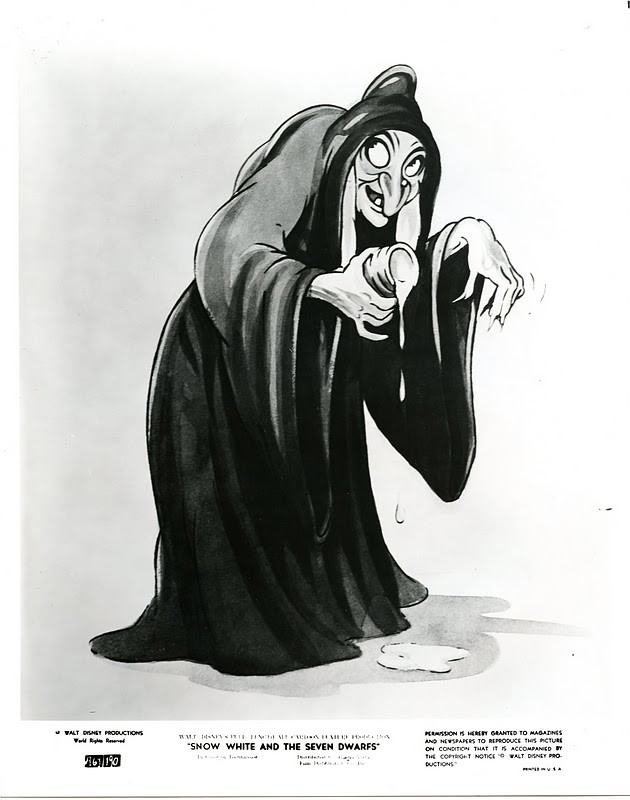 Antithesis of the wicked witch in snow white