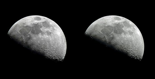 1Q Moon 3D, 14Dec10 (60.9%+) + 11Apr11 (54%+), X-eye | by Richard W2008