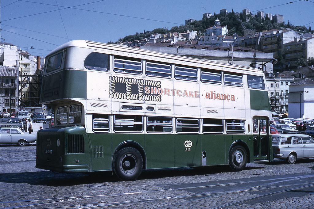 Daimler Fleetline, Martim Moniz (J.-H- Manara, 1972)