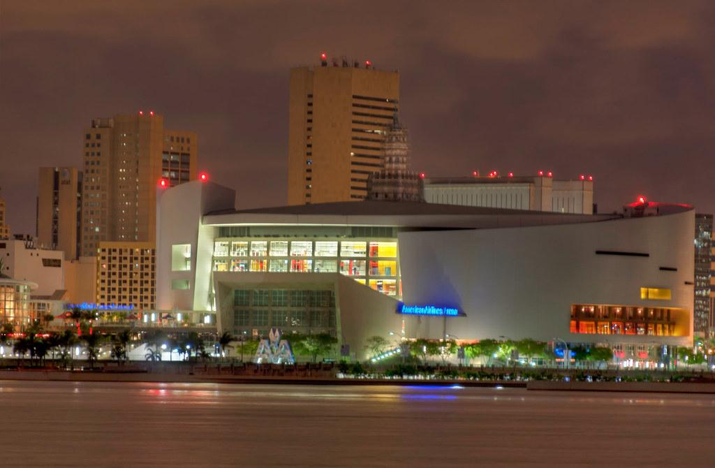 Miami Basketball Arena Airlines Arena in Miami