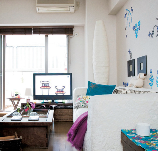 Apartments In Tokyo: Small Space Design Apartment In Tokyo