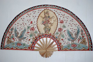 Fan by Balinese Artist Kartini: 2010, photo by Stan Florek | by Stanis MAR