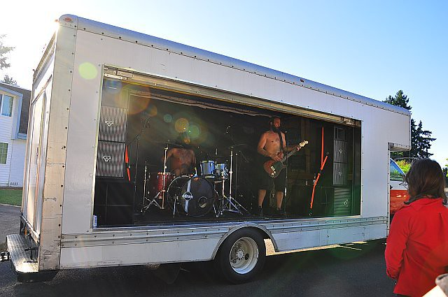 Athiarchists Mobile Music Stage Truck This Band Purchase