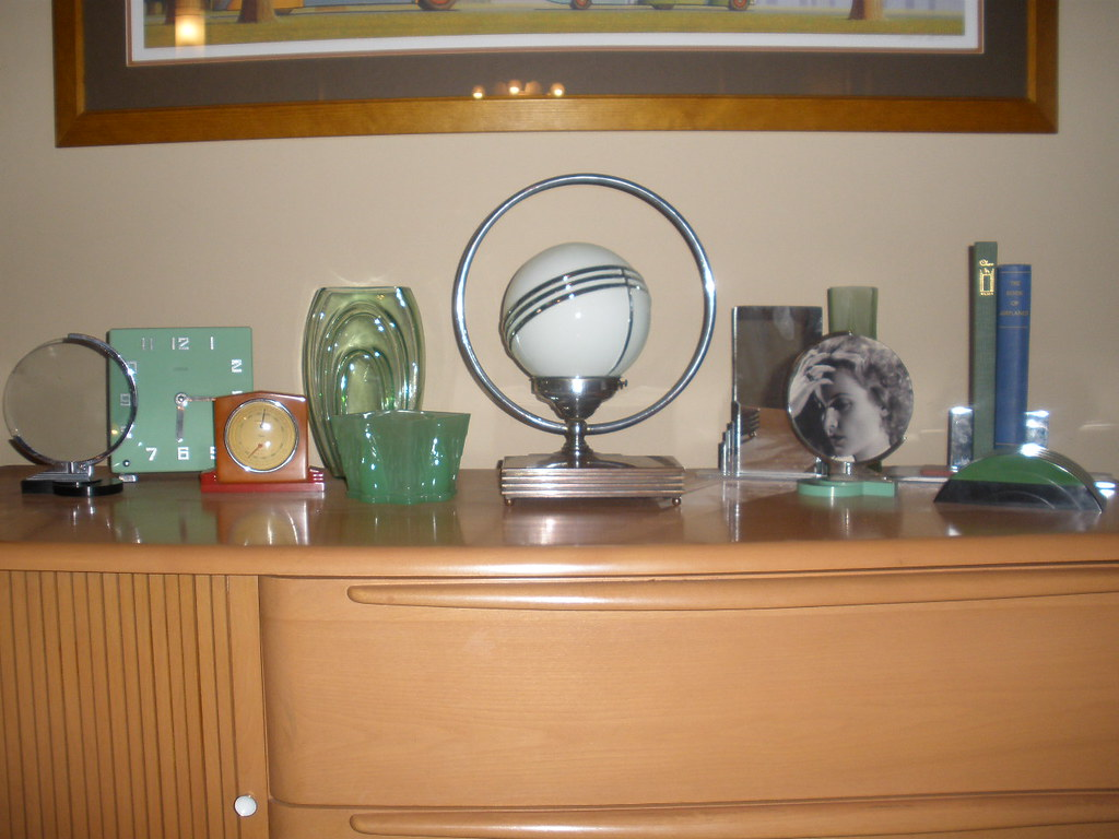 Art deco collection just some of my art deco objects incl flickr - Marokkaans deco object ...