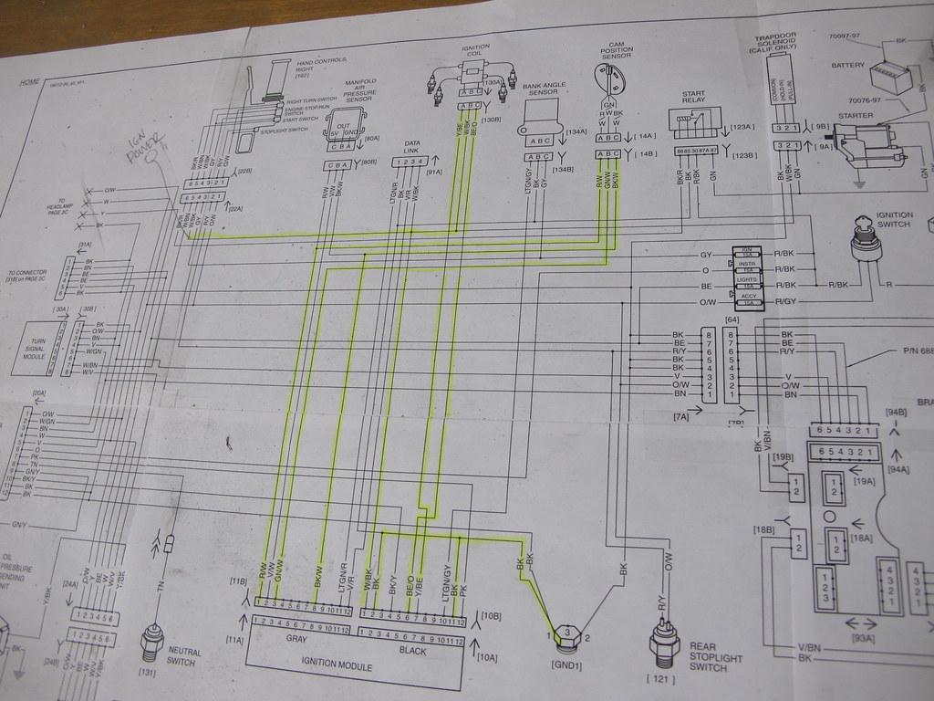Harley Sportster Wiring Diagram On Sportster Chopper Wiring Diagram