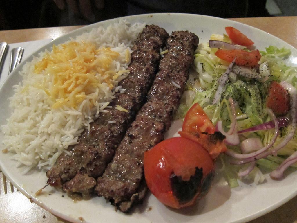 Chelo Kabab Koobideh Recipe