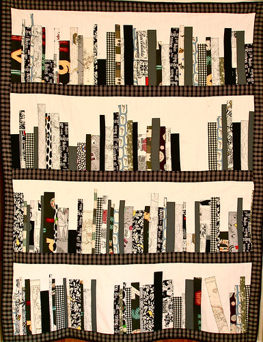 "the bookshelf quilt | by ""Gayatri"""