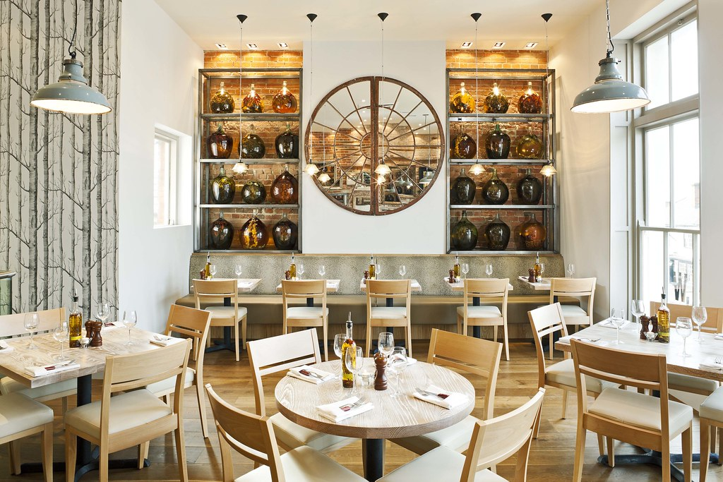 Restaurant bar design awards wildwood billericay