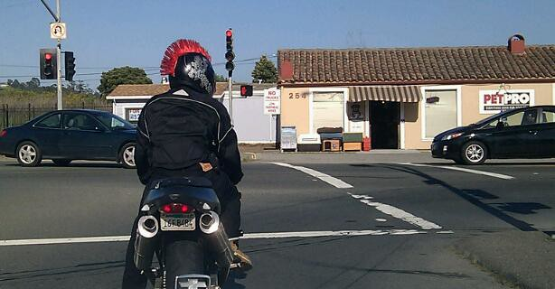 Cool Motorcycle Helmets With Mohawks Mohawk Motorcycle Helmet