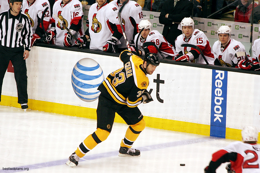 Zdeno Chara Winds Up Ottawa Senators Boston Bruins 4