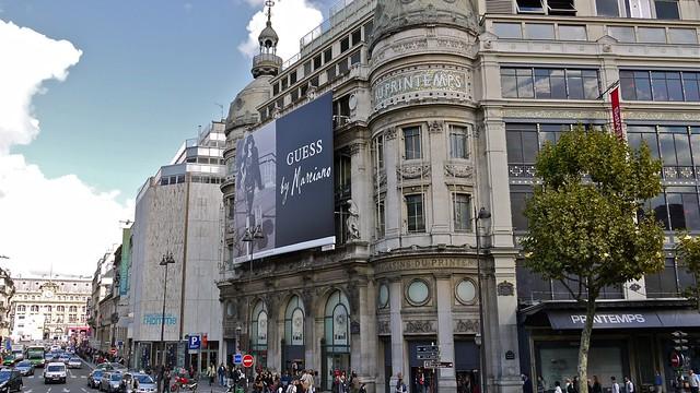 P1080997 france paris le magasin printemps haussmann flickr photo sharing - Magasin le printemps paris ...