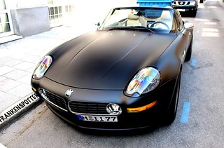 Matte black BMW Z8 in Munich | by Frankenspotter Photography