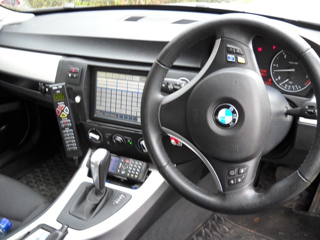 BMW 330d Interior