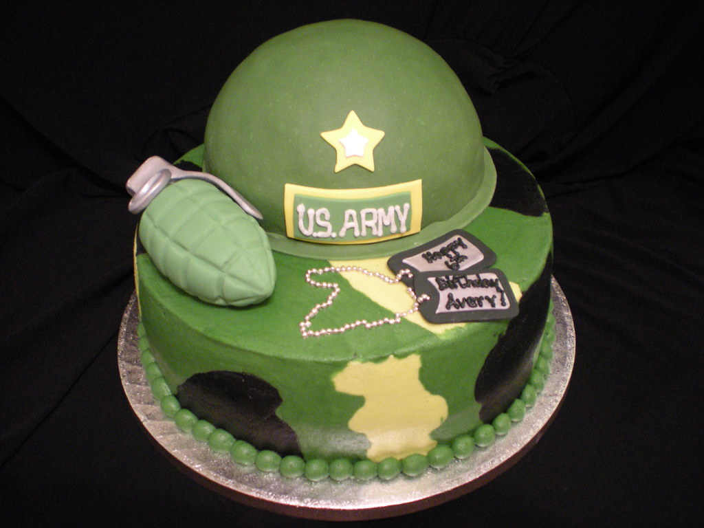 Cake Designs For Military : Army cake Karla T Flickr