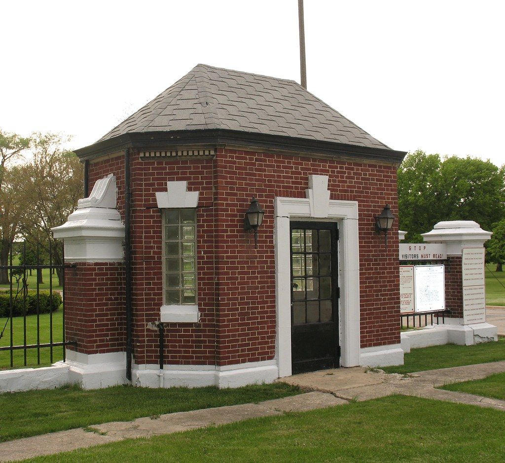 Stateville state prison guardhouse il lance taylor flickr B house